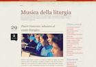MUSICA DELLA LITURGIA